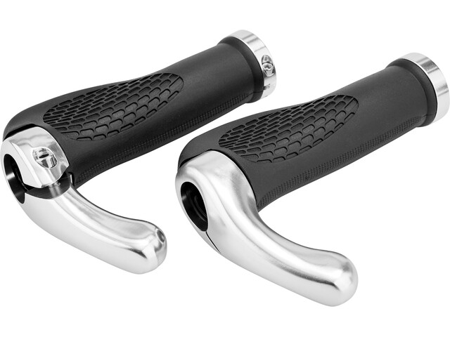 Red Cycling Products Multi Ergo Grips black/grey